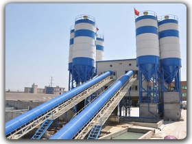 2x180m3/h Ready Mixed Concrete Mixing Plant