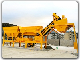 Mobile Subbase Soil Mixing Plant